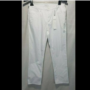 NEW Calvin Klein Weekend Slim Pants Sz 32 White